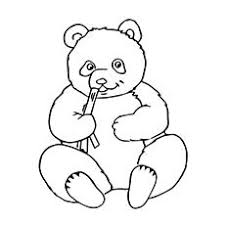 A Coloring Pages Of Panda Bears