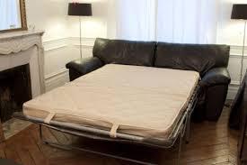 ikéa canapé lit lit ikea vreta cuir noir