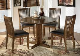 Dining Room Best Sellers Stuman Round Drop Leaf Table W 4 Side Chairs