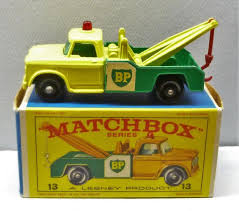 100 Matchbox Tow Truck Lesney 13 Dodge Wreck BP Decals NMIB Unused Wrecker