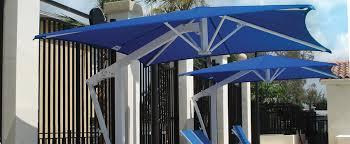 Shade Systems Square Cafe Umbrella Market Umbrellas Commercial Resort Restaurant