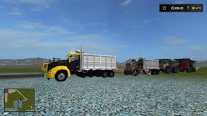 100 Dump Truck Tailgate KENWORTH T880 DUMP TRUCK V1003 GamesModsnet FS19 FS17 ETS