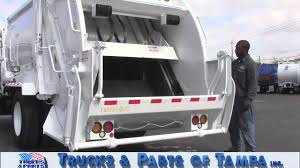 100 Trucks And Parts Of Tampa Tour 2008 Ford F750 McNeilus 11yd REL 021213 YouTube