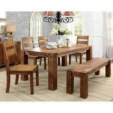 Furniture Of America Clarks Farmhouse Style Dining Table