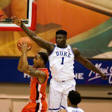 NCAA Zion Williamson Und Duke Blue Devils Besiegen Auburn Tigers