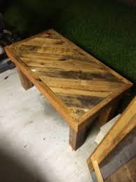 Lighted Patio Table Made Out Of Wooden Pallets Pallet Coffee TablesPallet Lamps Lights
