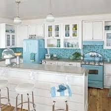 Ideas Kitchen White With Light Blue Tile Backsplash Accents Coastal Charlotte