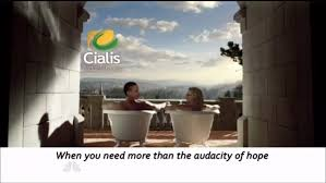 cialis commercial bathtubs leno turns obama clinton 60 minutes segment into cialis commercial