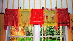 Walmart Kitchen Curtains Valances by Red Kitchen Curtains Walmart U2014 Home Design Blog The Best Red