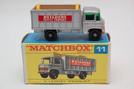 Matchbox Lesney #11 Scaffold Truck With Original Box, Made In ... Matchbox Superfast No 26 Site Dumper Dump Truck 1976 Met Brown Ford F150 Flareside Mb 53 1987 Cars Trucks 164 Mbx Cstruction Workready At Hobby Warehouse Is Now Doing Trucks The Way Should Be Cargo Controllers Combo Vehicles Stinky Garbage Walmartcom Large Garbagerecycling By Patyler1 On Deviantart 2011 Urban Tow Baby Blue Loose Ebay Utility Flashlight Boys Vehicle Adventure Toy With Rocky Robot Interactive Gift To Gadget