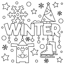 Coloring Pages Free Winter Wallpaper For Desktoporing Sheets
