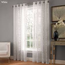 Lace Priscilla Curtains With Attached Valance by Lace Curtains India Mccurtaincounty