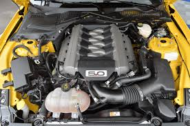 Gallery The 2015 Ford Mustang GT engine bay in detail