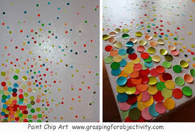 Paint Chip Art Projects With Kids