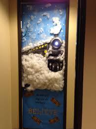 Kindergarten Christmas Door Decorating Contest by My Office Door Polar Express Asincleair Pinterest Doors