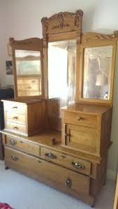 solid oak dresser rubbe brass hardware with swivel base drawers