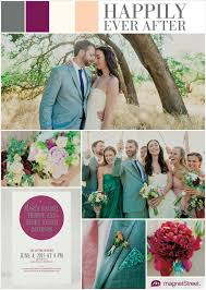 Gray And Purple Wedding Colors Inspiration