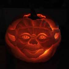 Yoda Pumpkin Stencil by The Five Day Five Pumpkin Challenge The Stylish Geek