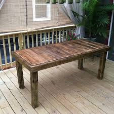 DIY Pallet Table 13 Easy Outdoor DIY Projects & Upcycles Live