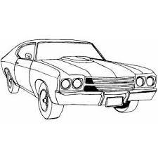 Old Sports Car Coloring Pages