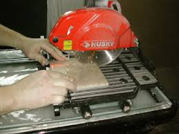 husky tile saw thd950l tool review husky saw other tiling tools a constructed