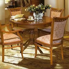 premium esstischgruppe runder esstisch ausziehbar 4 stühle rustikale eiche