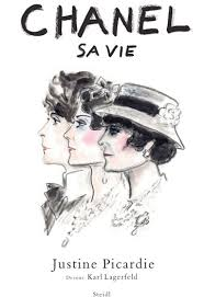 Karl Lagerfeld Sketches Coco Chanel