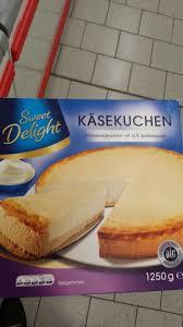 sweet delight käsekuchen kalorien nährwerte produktdaten