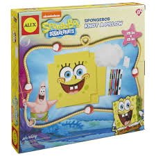 SpongeBob Knot A Pillow - AlexBrands.com