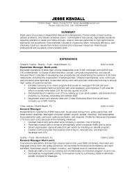 Cover Letter Hotel General Manager Position