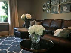 Black Leather Couch Living Room Ideas by Narrow Living Room Tv Above Fireplace Grey Wall Decor Dark