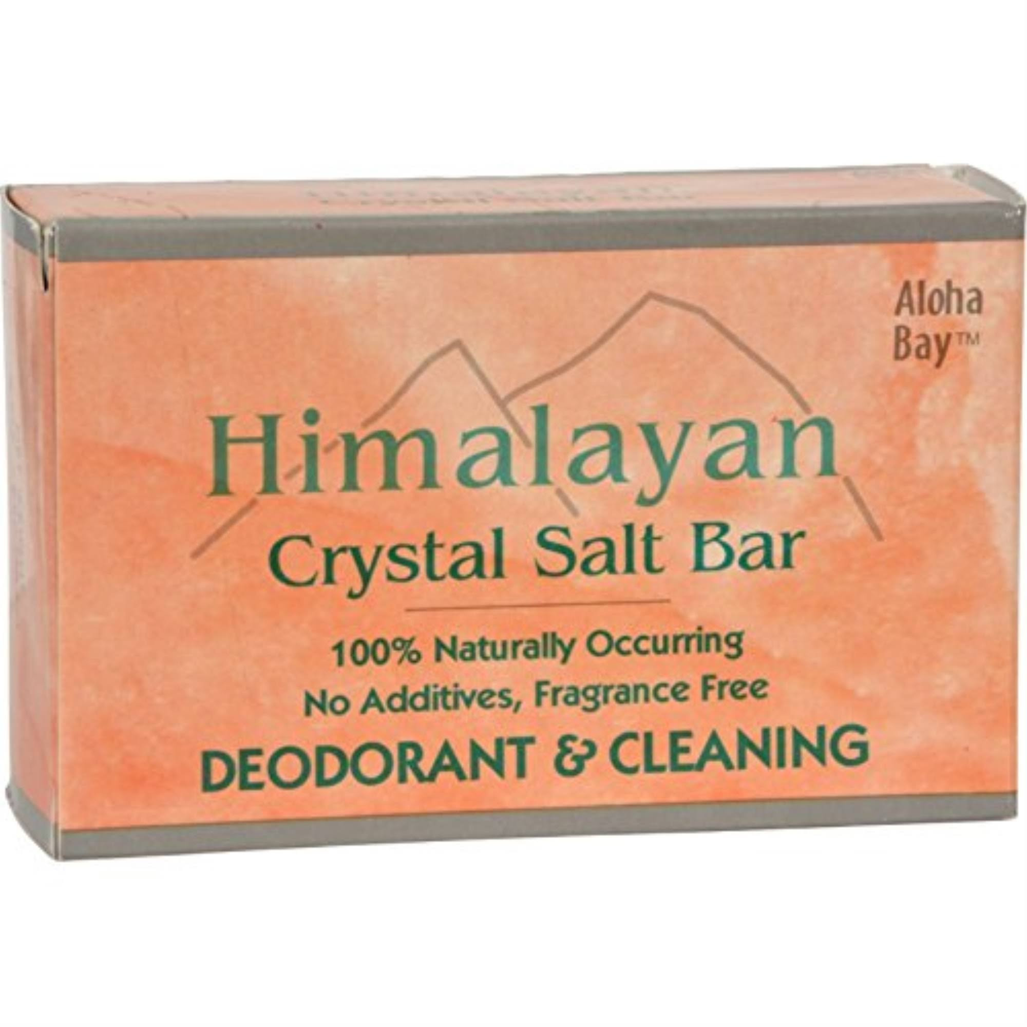 Aloha Bay Himalayan Salt Crystal Bath Bar