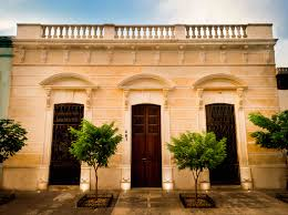 Capturing Colonial Splendor Through Architecture In Merida Mexico A Building Facade Characteristic Of Meridas Historic Center