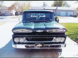 100 61 Chevy Truck 19 Chevrolet Apache Hot Rod Network