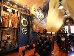Steampunk Room Ideas, Steampunk Interior Design Office Steampunk ... Interior Steampunk Interior Design Modern Home Decorating Ideas A Visit To A Steampunked Modvic Stunning House And Planning 40 Incredible Lofts That Push Boundaries Astounding Bedroom 57 Further With Cool Decor Awesome On Room News 15 For Your Bar Bedrooms Marvellous 2017 Diy