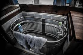 Galvanized Stock Tank Bathtub by Tiny House Bathtubs This Is Not To Say That Some Clever