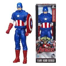 Marvel Avengers Age Of Ultron Titan Hero Captain America 12 Inch Action Figure Image 1