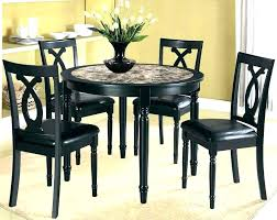 Compact Dining Table Set Black Tables And Chairs Small