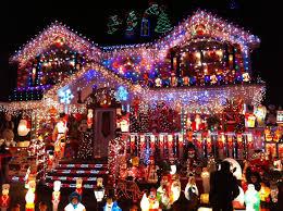 Christmas Tree Lane South Pasadena by Electric Christmas Lights
