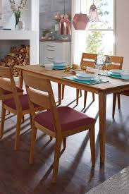 esstisch mit stühlen eleva aus wildeiche massiv tisch