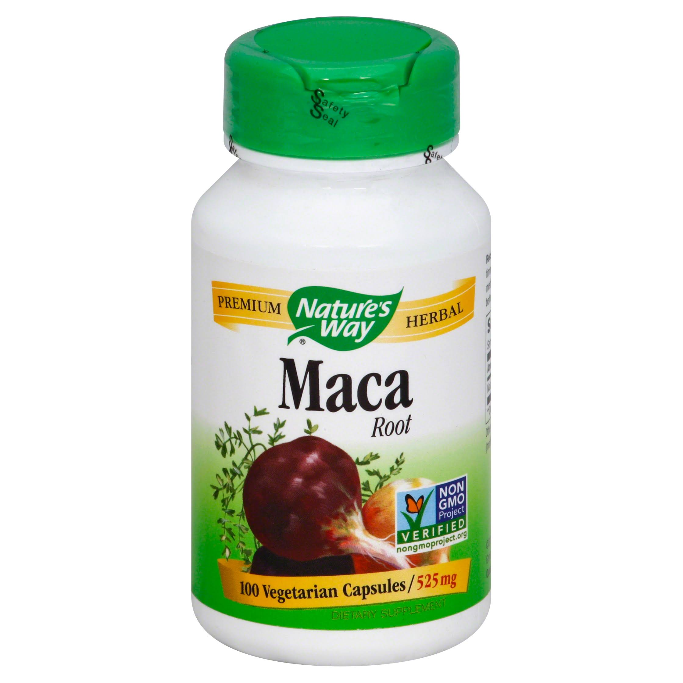 Nature's Way Maca Root - 525mg, 100 Capsules