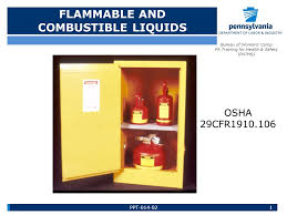bureau workers comp flammable and combustible liquids 1 bureau of workers comp pa