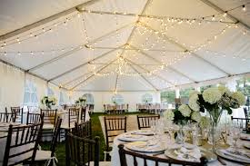 Ivory White Outdoor Tent Wedding Reception Table Display