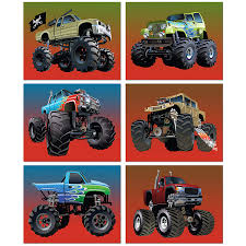 100 Monster Truck For Kids Amazoncom Poster Prints Set Of Six 8x10 Photos