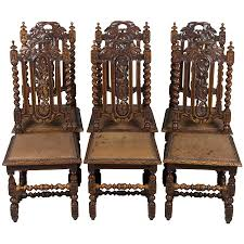 Set Of Six French Antique Dining Chairs | Awesome Antiques ... Marvellous High Ding Chairs Set Of 4 Astonishing Fniture Barley Twist Table Images Round Room Tables 1940s Vintage Or Kitchen Of Antique Edwardian Oak Draw Leaf Carved Pair Wood Throne Amazing Detail 1850 Twist Ding Room Table And 6 Chairs Renaissance At English Jacobean Chair Amazoncom Rustic Gate Leg For Its The Perfect Entertaing Family Friends