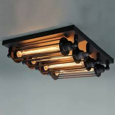 fashion style flush mount ceiling lights industrial lighting