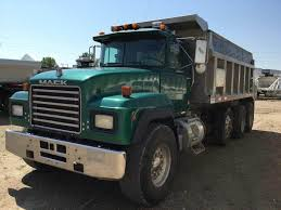 100 Tri Axle Dump Truck For Sale By Owner 1994 Mack RD600 E7 350HP Manual