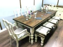 Farmhouse Dining Table Ideas 8 Rustic Large Farm Plans And Room Decorations