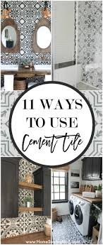 11 gorgeous ways to use cement tile home stories a to z