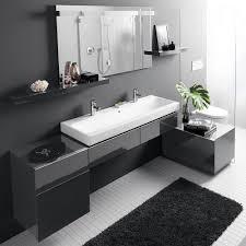 bad in schwarz weiß badezimmer trends bad modernes